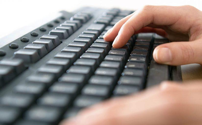 Teste de digitação online do Fabio surgiu através de provas que eram aplicadas por ele enquanto professor.