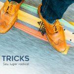 Tricks aplicativo radical para encontrar lugares para andar de skate