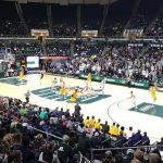 Jogo masculino de basquete - Bobcats