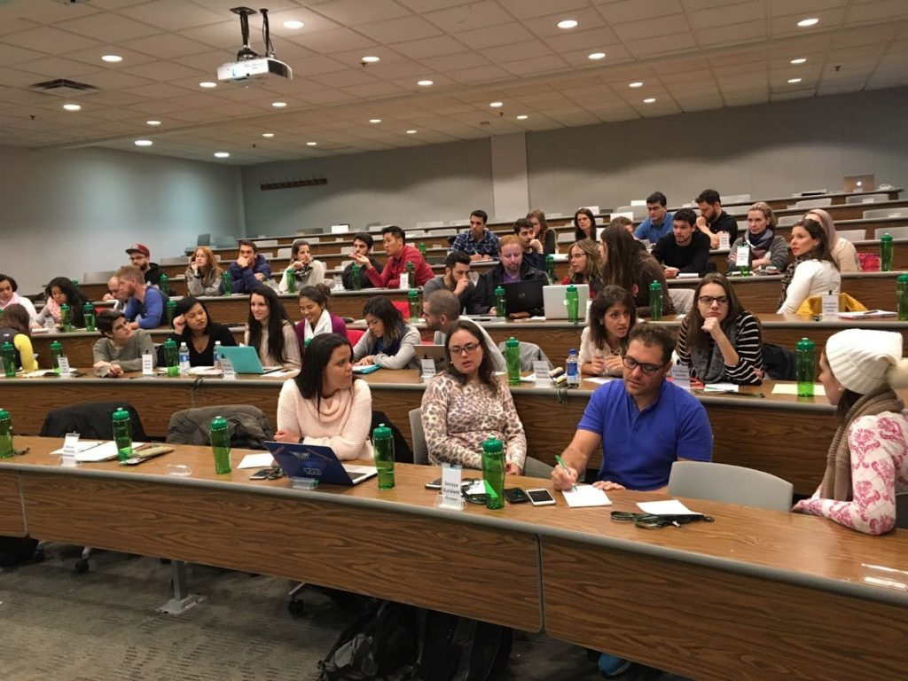 Sala de aula - Ohio University